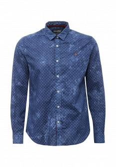 Мужская синяя рубашка NAPAPIJRI