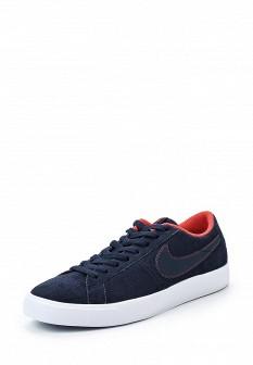 Мужские синие осенние кеды Nike