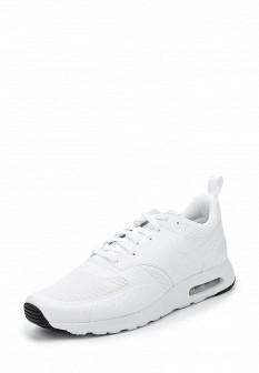Мужские белые осенние кожаные кроссовки air max