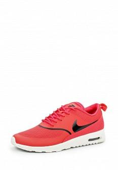 Женские осенние коралловые кожаные кроссовки air max