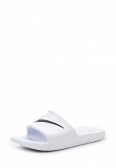 Женские белые шлепанцы Nike