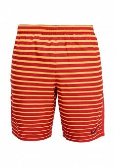 Мужские оранжевые осенние спортивные шорты