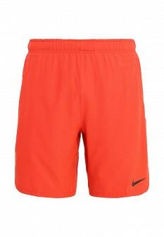 Мужские оранжевые спортивные шорты