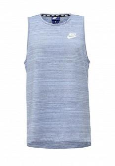 Мужская голубая майка Nike