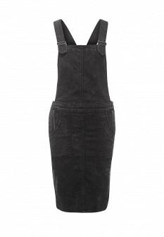 Черное джинсовое платье Noisy May