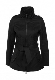 Женская черная осенняя куртка
