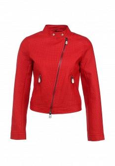 Женская красная куртка