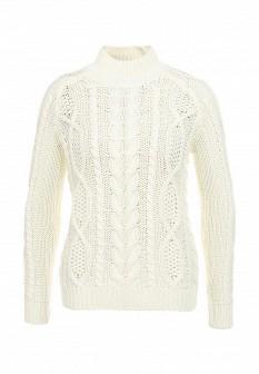 Женский белый осенний свитер