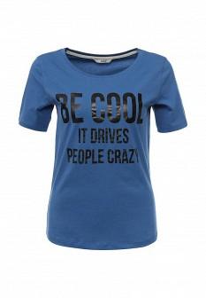 Женская синяя футболка ONLY
