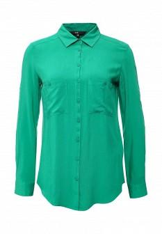 Зеленая блузка Oodji
