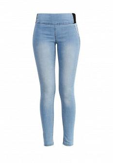 Женские голубые брюки Oodji