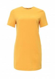 Желтое платье Oodji