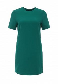 Зеленое платье Oodji
