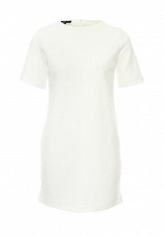 Белое платье Oodji