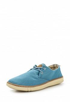 Мужские голубые ботинки