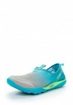 Женские голубые серые кроссовки