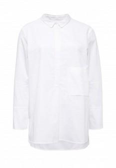 Белая осенняя блузка