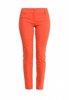 Женские оранжевые осенние брюки
