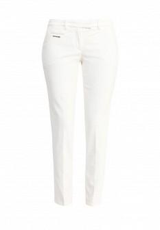 Женские белые итальянские осенние брюки