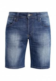 Мужские синие осенние джинсовые шорты
