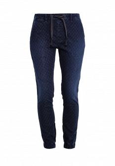 Женские синие брюки Pepe Jeans
