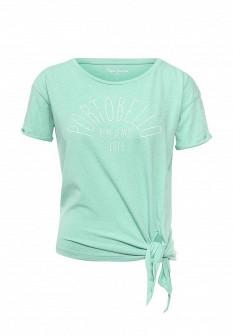 Женская мятная футболка Pepe Jeans