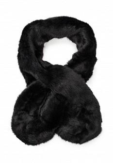 Женский черный осенний шарф Pieces