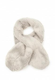 Женский серый осенний шарф Pieces