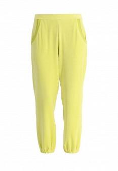 Женские желтые осенние брюки