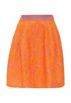 Оранжевая юбка PINKO