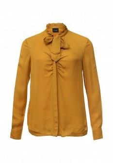 Желтая осенняя блузка PINKO
