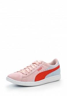 Женские розовые кроссовки Puma