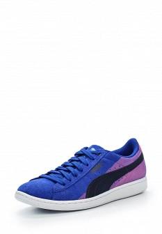 Женские синие кроссовки Puma