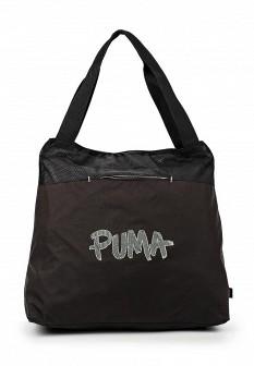 Женская черная сумка Puma