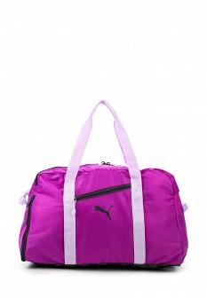 Женская фиолетовая спортивная сумка
