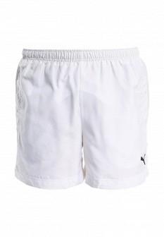 Мужские белые спортивные шорты