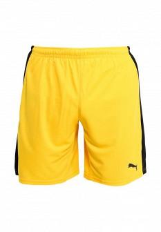 Мужские желтые осенние спортивные шорты