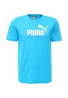 Мужская голубая футболка Puma