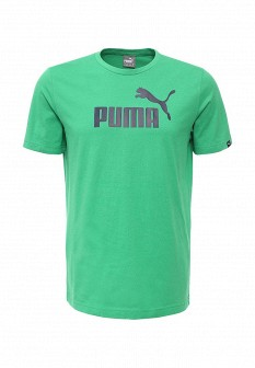 Мужская зеленая спортивная футболка