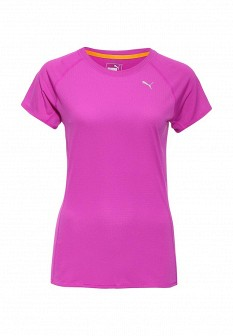 Женская фиолетовая спортивная футболка
