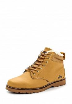 Мужские желтые осенние ботинки из нубука