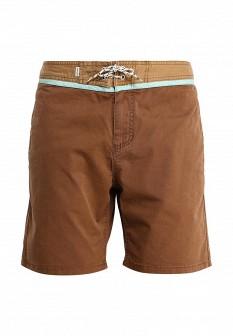 Мужские коричневые шорты Quiksilver