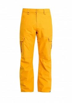 Мужские желтые осенние брюки