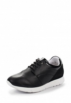 Женские белые черные кожаные кроссовки