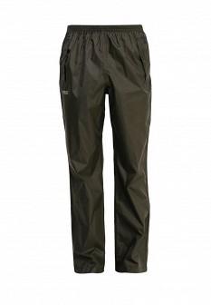 Мужские зеленые осенние брюки спорт