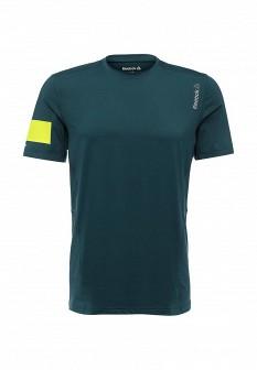 Мужская зеленая осенняя спортивная футболка