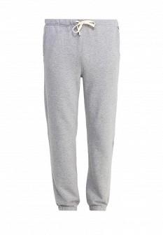 Мужские серые осенние спортивные брюки