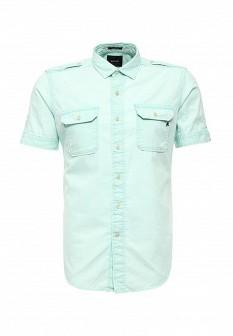 Мужская мятная осенняя рубашка