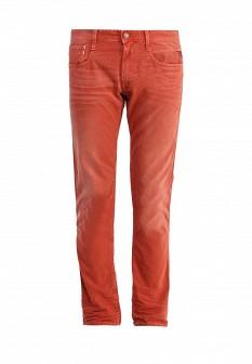 Мужские красные осенние джинсы