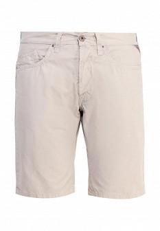 Мужские серые осенние шорты Replay